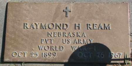REAM, RAYMOND H. - Dakota County, Nebraska   RAYMOND H. REAM - Nebraska Gravestone Photos