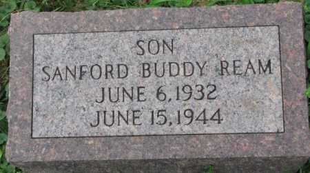 REAM, SANFORD BUDDY - Dakota County, Nebraska | SANFORD BUDDY REAM - Nebraska Gravestone Photos