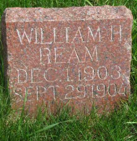 REAM, WILLIAM H. - Dakota County, Nebraska | WILLIAM H. REAM - Nebraska Gravestone Photos
