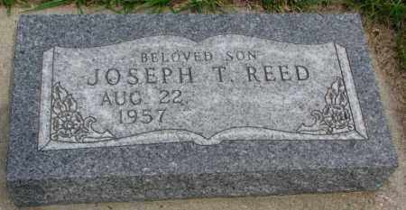 REED, JOSEPH T. - Dakota County, Nebraska | JOSEPH T. REED - Nebraska Gravestone Photos