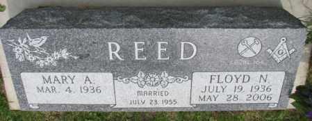 REED, MARY A. - Dakota County, Nebraska | MARY A. REED - Nebraska Gravestone Photos