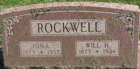 ROCKWELL, WILL H. - Dakota County, Nebraska | WILL H. ROCKWELL - Nebraska Gravestone Photos
