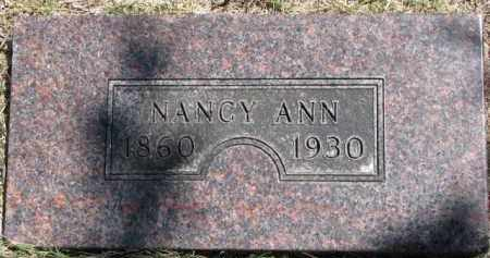 ROCKWELL, NANCY ANN - Dakota County, Nebraska | NANCY ANN ROCKWELL - Nebraska Gravestone Photos