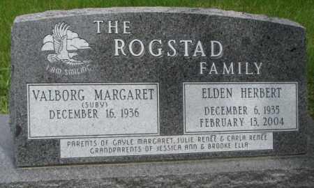ROGSTAD, VALBORG MARGARET - Dakota County, Nebraska | VALBORG MARGARET ROGSTAD - Nebraska Gravestone Photos