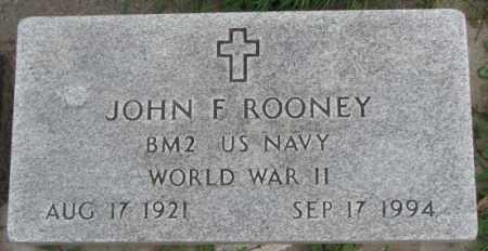 ROONEY, JOHN F. - Dakota County, Nebraska | JOHN F. ROONEY - Nebraska Gravestone Photos