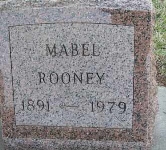 ROONEY, MABEL - Dakota County, Nebraska | MABEL ROONEY - Nebraska Gravestone Photos