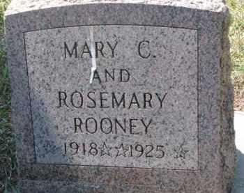 ROONEY, MARY C. - Dakota County, Nebraska | MARY C. ROONEY - Nebraska Gravestone Photos