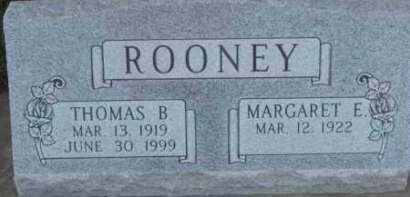 ROONEY, THOMAS B. - Dakota County, Nebraska | THOMAS B. ROONEY - Nebraska Gravestone Photos