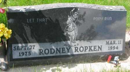 ROPKEN, RODNEY - Dakota County, Nebraska | RODNEY ROPKEN - Nebraska Gravestone Photos