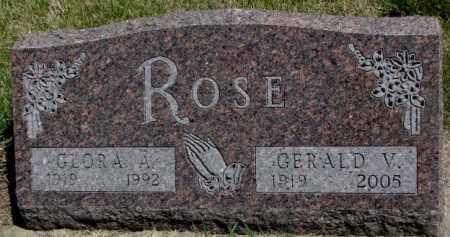 ROSE, GLORIA A. - Dakota County, Nebraska   GLORIA A. ROSE - Nebraska Gravestone Photos