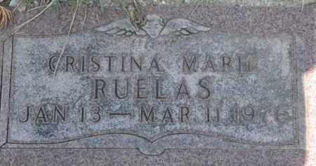 RUELAS, CRISTINA MARIE - Dakota County, Nebraska | CRISTINA MARIE RUELAS - Nebraska Gravestone Photos
