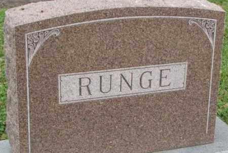 RUNGE, PLOT - Dakota County, Nebraska | PLOT RUNGE - Nebraska Gravestone Photos