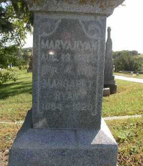 RYAN, MARY A. - Dakota County, Nebraska | MARY A. RYAN - Nebraska Gravestone Photos