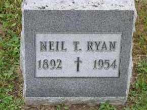 RYAN, NEIL T. - Dakota County, Nebraska | NEIL T. RYAN - Nebraska Gravestone Photos