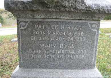 RYAN, MARY - Dakota County, Nebraska   MARY RYAN - Nebraska Gravestone Photos