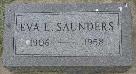 SAUNDERS, EVA L. - Dakota County, Nebraska | EVA L. SAUNDERS - Nebraska Gravestone Photos