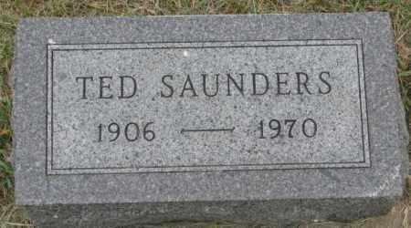 SAUNDERS, TED - Dakota County, Nebraska | TED SAUNDERS - Nebraska Gravestone Photos
