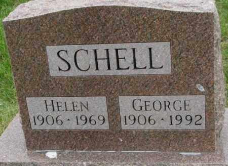 SCHELL, HELEN - Dakota County, Nebraska | HELEN SCHELL - Nebraska Gravestone Photos