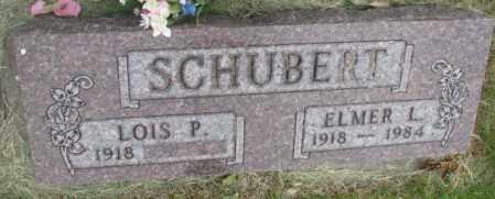 SCHUBERT, LOIS P. - Dakota County, Nebraska | LOIS P. SCHUBERT - Nebraska Gravestone Photos