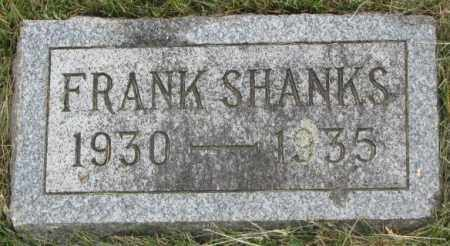 SHANKS, FRANK - Dakota County, Nebraska | FRANK SHANKS - Nebraska Gravestone Photos