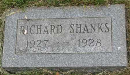 SHANKS, RICHARD - Dakota County, Nebraska | RICHARD SHANKS - Nebraska Gravestone Photos