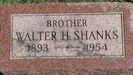 SHANKS, WALTER H. - Dakota County, Nebraska | WALTER H. SHANKS - Nebraska Gravestone Photos