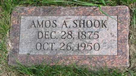 SHOOK, AMOS A. - Dakota County, Nebraska | AMOS A. SHOOK - Nebraska Gravestone Photos