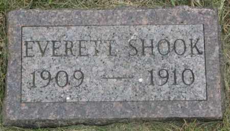 SHOOK, EVERETT - Dakota County, Nebraska | EVERETT SHOOK - Nebraska Gravestone Photos