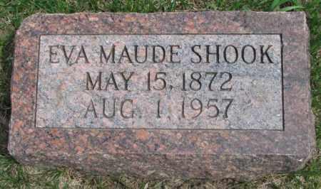 SHOOK, EVA MAUDE - Dakota County, Nebraska   EVA MAUDE SHOOK - Nebraska Gravestone Photos