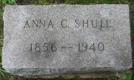 SHULL, ANNA C. - Dakota County, Nebraska | ANNA C. SHULL - Nebraska Gravestone Photos