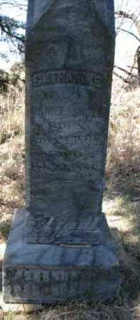 SHULL, CATHARINE - Dakota County, Nebraska | CATHARINE SHULL - Nebraska Gravestone Photos