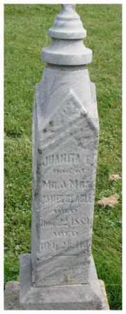 SLAGLE, JUANITA E. - Dakota County, Nebraska   JUANITA E. SLAGLE - Nebraska Gravestone Photos