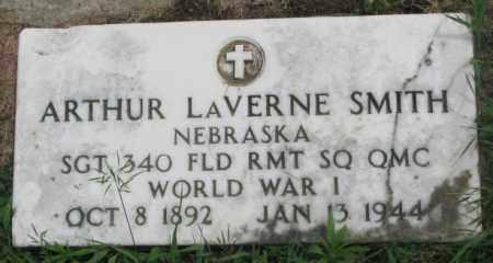 SMITH, ARTHUR LAVERNE - Dakota County, Nebraska | ARTHUR LAVERNE SMITH - Nebraska Gravestone Photos