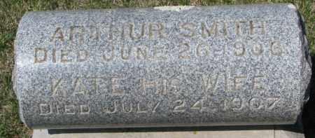 SMITH, ARTHUR - Dakota County, Nebraska | ARTHUR SMITH - Nebraska Gravestone Photos