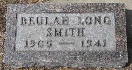 LONG SMITH, BEULAH - Dakota County, Nebraska   BEULAH LONG SMITH - Nebraska Gravestone Photos