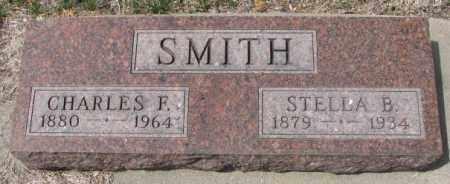 SMITH, CHARLES F. - Dakota County, Nebraska | CHARLES F. SMITH - Nebraska Gravestone Photos