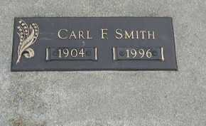 SMITH, CARL F. - Dakota County, Nebraska | CARL F. SMITH - Nebraska Gravestone Photos