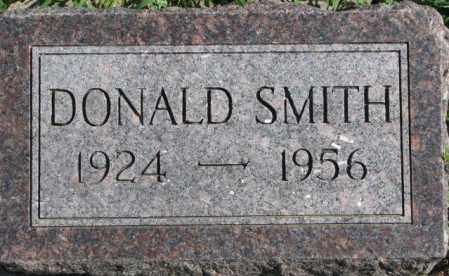 SMITH, DONALD - Dakota County, Nebraska | DONALD SMITH - Nebraska Gravestone Photos