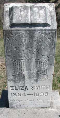 SMITH, ELIZA - Dakota County, Nebraska | ELIZA SMITH - Nebraska Gravestone Photos