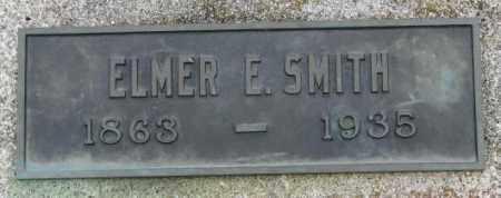 SMITH, ELMER E. - Dakota County, Nebraska | ELMER E. SMITH - Nebraska Gravestone Photos