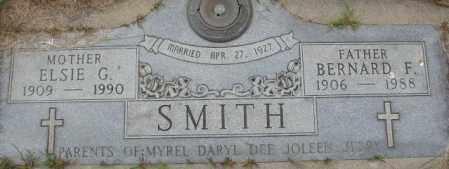 SMITH, BERNARD F. - Dakota County, Nebraska | BERNARD F. SMITH - Nebraska Gravestone Photos