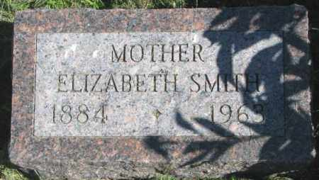 SMITH, ELIZABETH - Dakota County, Nebraska | ELIZABETH SMITH - Nebraska Gravestone Photos