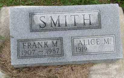 SMITH, FRANK M. - Dakota County, Nebraska   FRANK M. SMITH - Nebraska Gravestone Photos