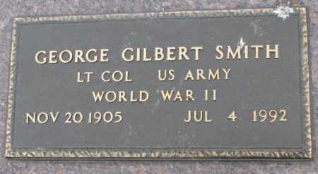 SMITH, GEORGE GILBERT (WW II) - Dakota County, Nebraska | GEORGE GILBERT (WW II) SMITH - Nebraska Gravestone Photos