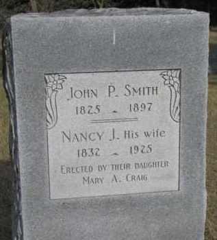 SMITH, JOHN P. - Dakota County, Nebraska   JOHN P. SMITH - Nebraska Gravestone Photos