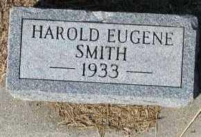 SMITH, HAROLD EUGENE - Dakota County, Nebraska | HAROLD EUGENE SMITH - Nebraska Gravestone Photos
