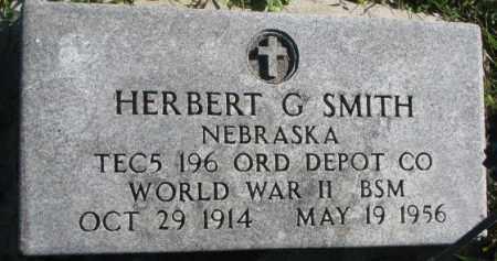 SMITH, HERBERT G. - Dakota County, Nebraska | HERBERT G. SMITH - Nebraska Gravestone Photos
