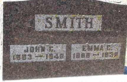 SMITH, JOHN C. - Dakota County, Nebraska | JOHN C. SMITH - Nebraska Gravestone Photos
