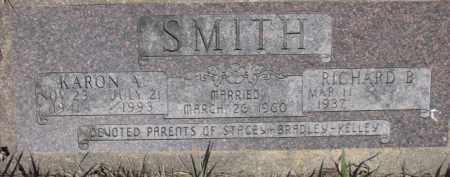 SMITH, RICHARD B. - Dakota County, Nebraska | RICHARD B. SMITH - Nebraska Gravestone Photos