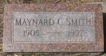 SMITH, MAYNARD C. - Dakota County, Nebraska | MAYNARD C. SMITH - Nebraska Gravestone Photos